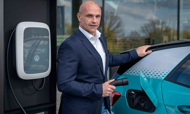 VW's EV boss discusses the move to electrification