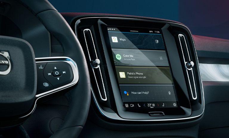 Volvo Google infotainment