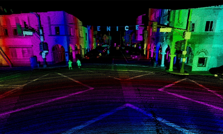 Lidar sector gets crowded fast