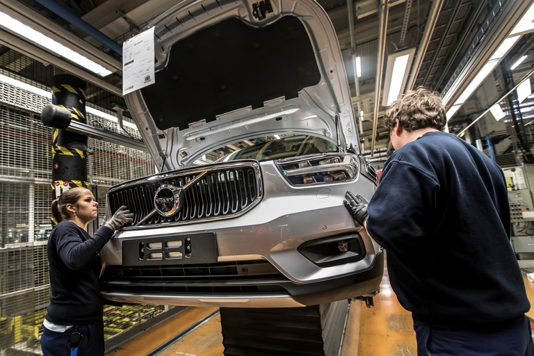 Volvo's Ghent plant gets a new challenge
