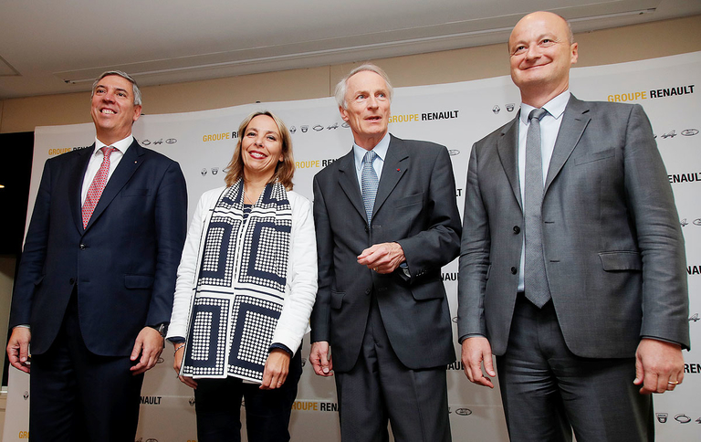 Renault CEO ouster marks fresh start from Ghosn era