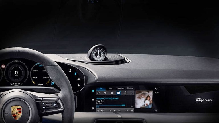 Porsche, Apple Music partner on infotainment for Taycan