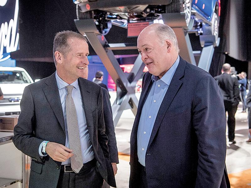 Ford-VW could rank among AV leaders