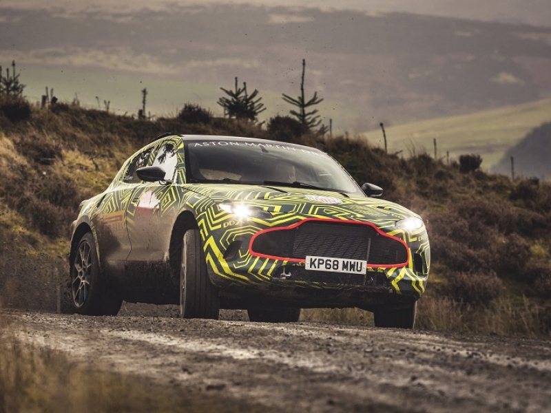 Aston Martin's first SUV is 'thing of beauty,' CEO Palmer says; DBX name confirmed