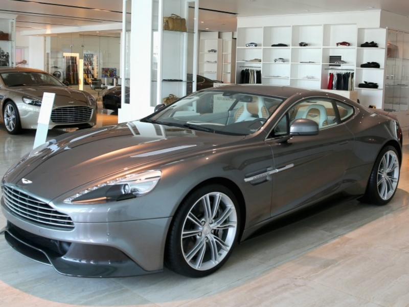Aston Martin fails to sell Vanquish's tooling, design drawings