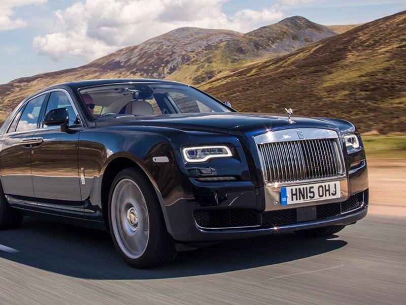 Rolls Royce Simplifies New Ghost S Design