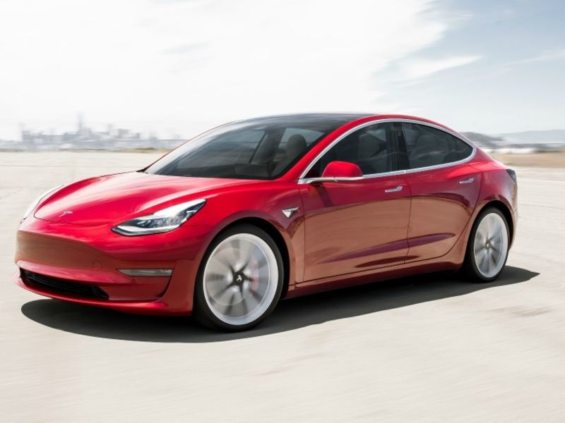 Tesla Model 3 is a winner in used-car market