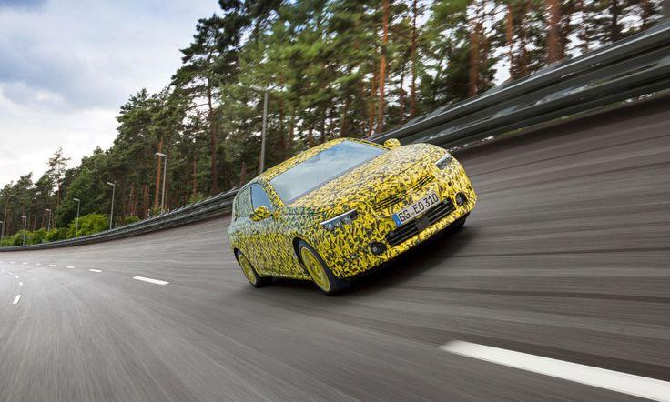 Opel Astra 2021 camo