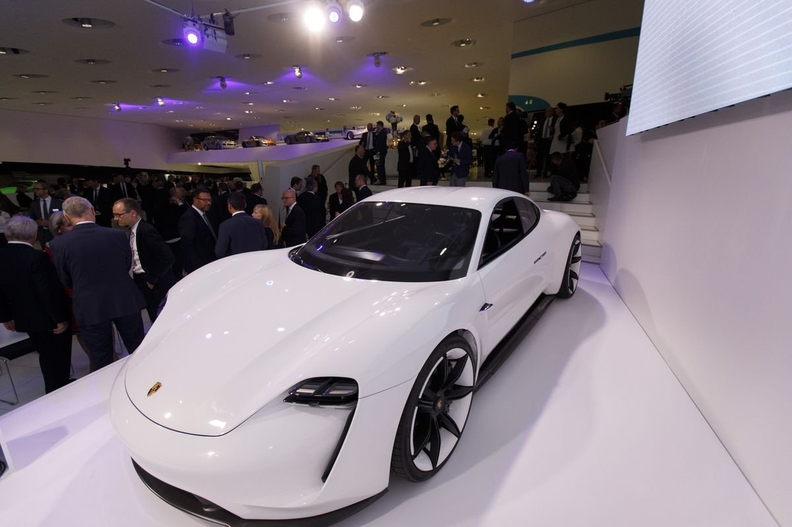 Tesla faces stiff competitors as Porsche plans to spice up Taycan manufacturing