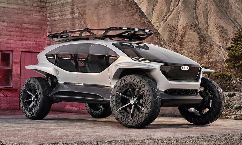 Audi adds self-driving off-road concept to its futuristic EV