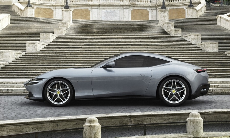 Ferrari Hopes To Win Over Suv Buyers With Roma Coupe