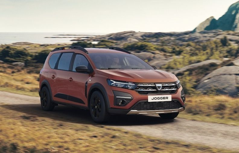 The Dacia Jogger is available in five- and seven-seat versions.
