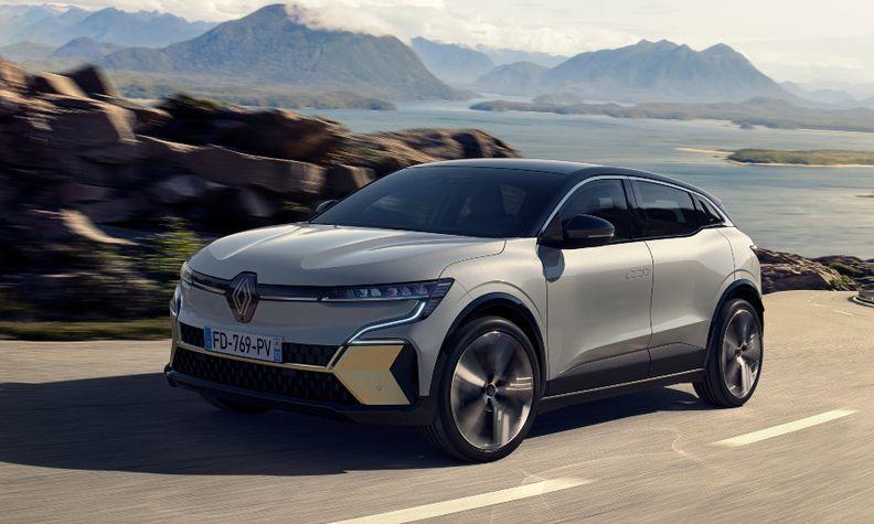Renault Megane E-Tech Electric front 2021