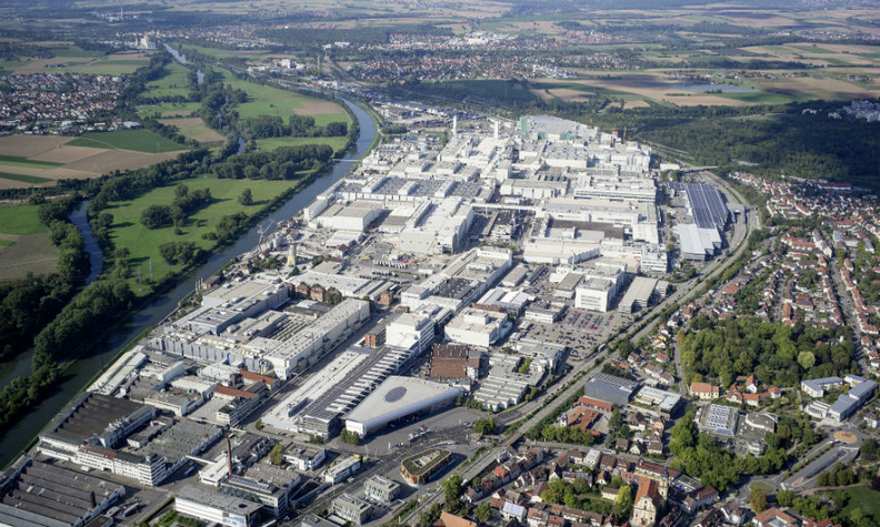 Audi S Neckarsulm Plant Is Close To The Neckar River Which Flooded