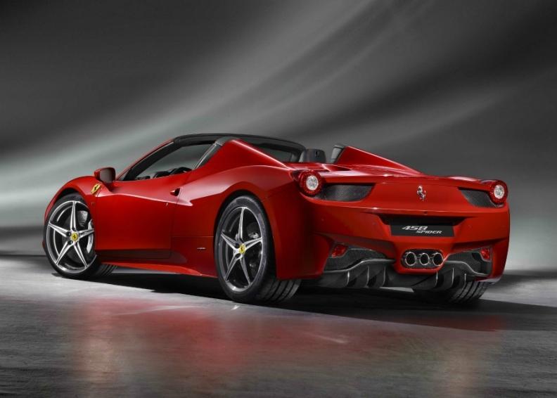 Ferrari Prices 458 Spider At 226 800 Euros