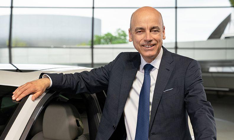 BMW CFO Nicolas Peter