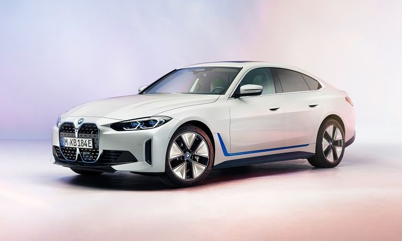 BMW will launch the i4 electric sedan three months ahead of schedule
