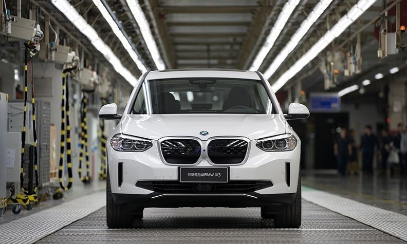 BMW iX3 production BMW Brilliance Automotive Shenyang 2020