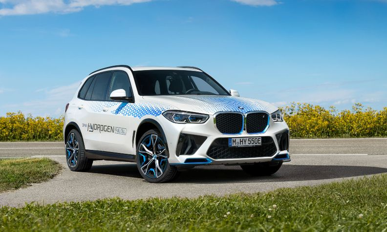 BMW iX5 fuel cell