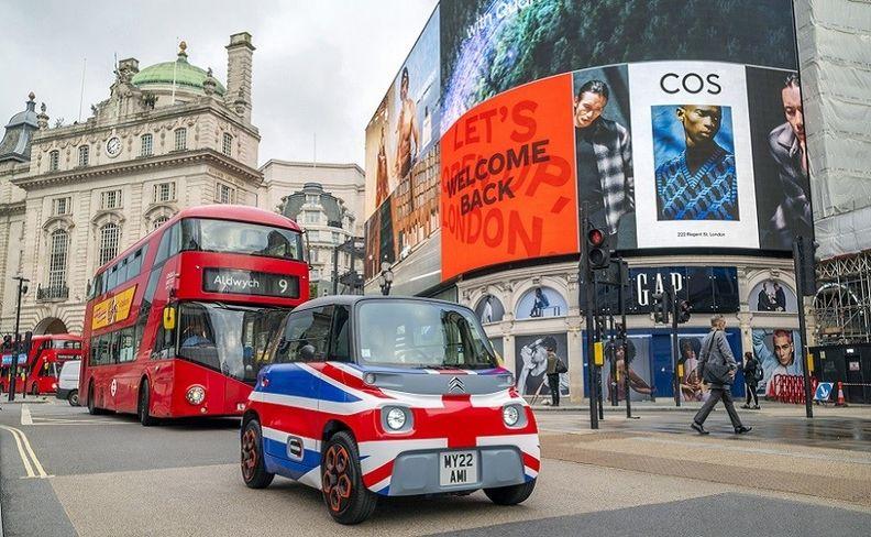 Citroen Ami London 2021