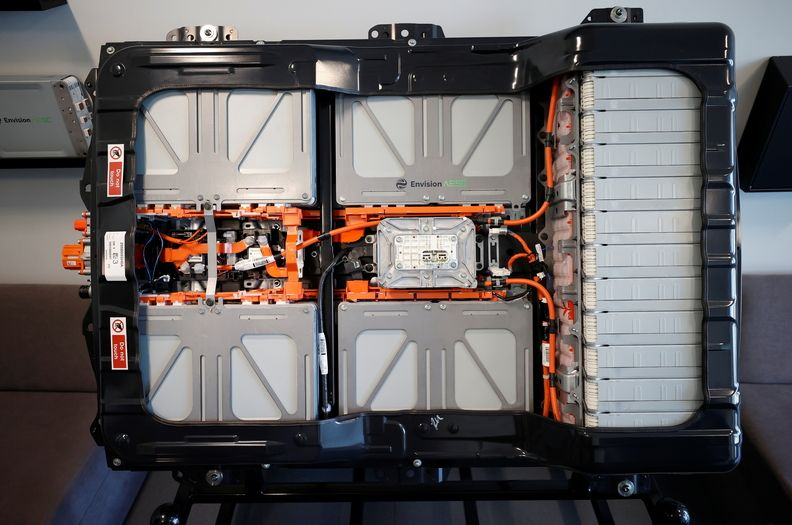 Envision battery for the Leaf at Nissan Sunderland plant