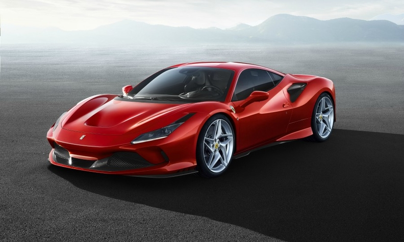 Ferrari F8 Tributo is a 710hp Replacement for the 488 GTB