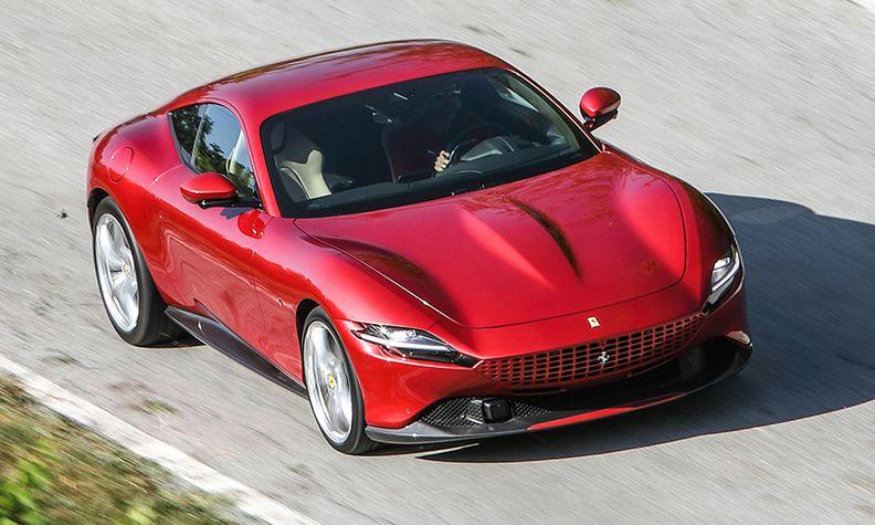 Ferrari Aims Less Intimidating Roma At Suv Sedan Drivers