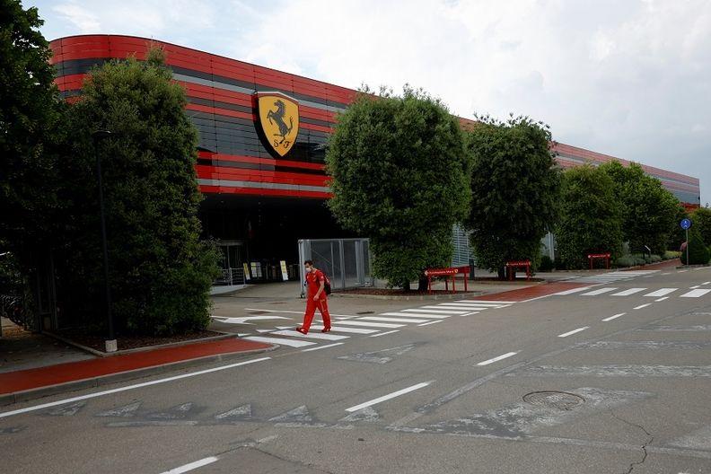 Ferrari's headquarters in Maranello, Italy.