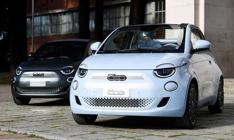 The Fiat New 500 battery-powered hatchback sold in Europe will be joined by other EVs.