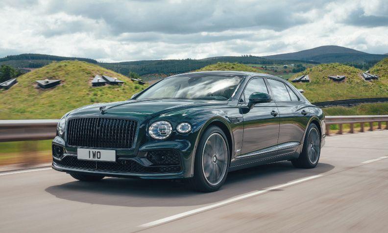 Bentley Flying Spur plug-in