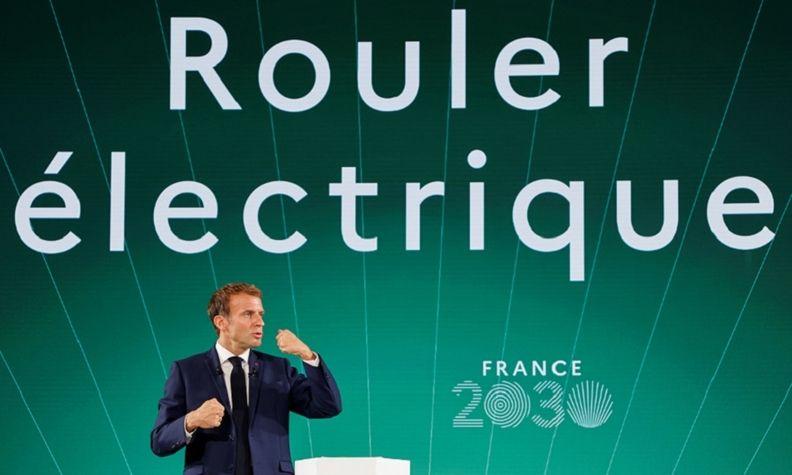 Macron France 2030 plan 2021