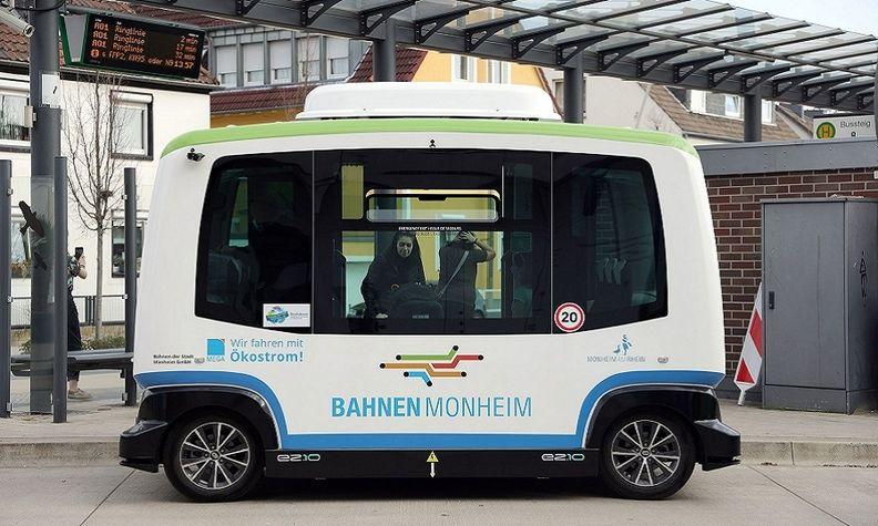 Germany self-driving shuttle