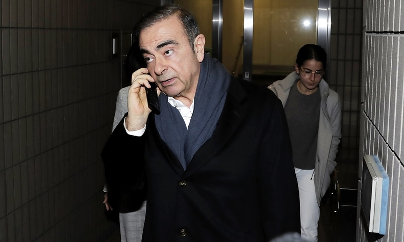 Ex-Nissan boss Carlos Ghosn arrested again on fresh charges