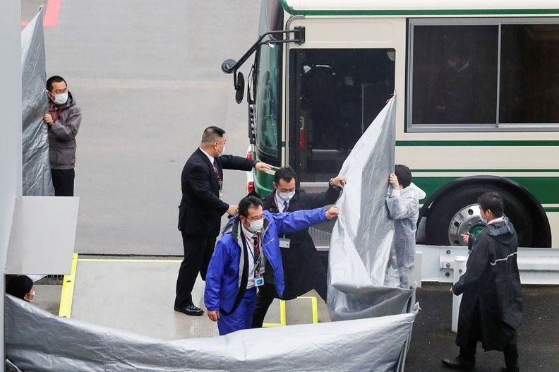 Ghosn escape helpers