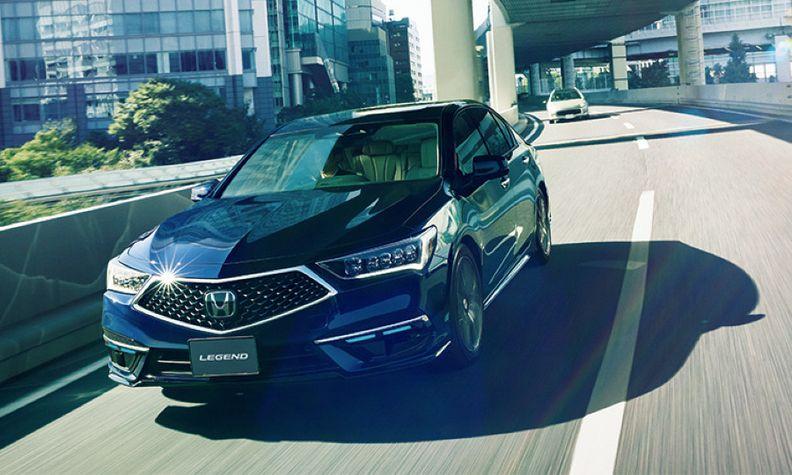 Honda Legend self-driving technology