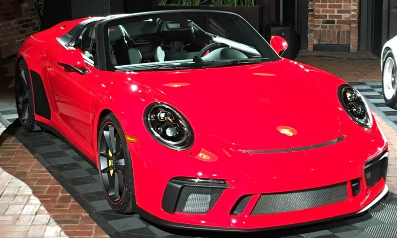 Porsche 911 Speedster debuts in North America with 502hp