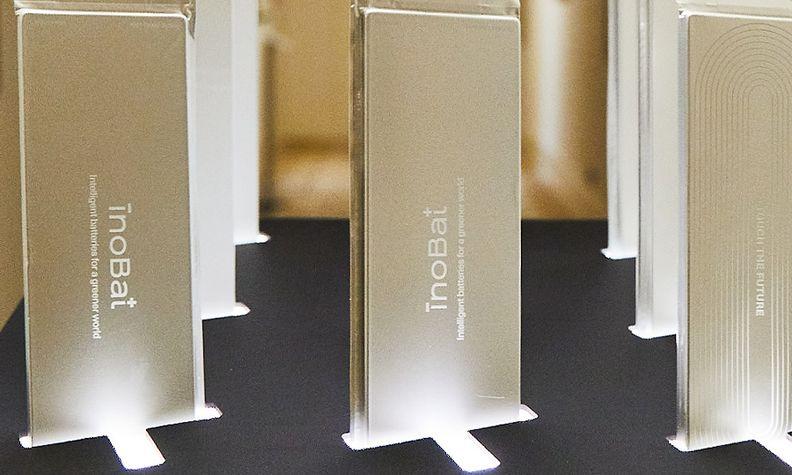 InoBat batteries on display