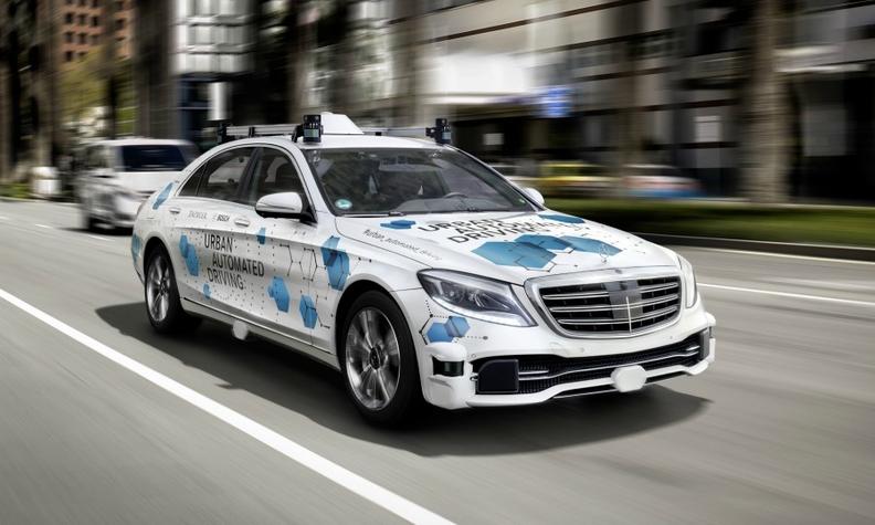 Mercedes Stevens Creek >> Daimler Starts Pilot Testing Of Self Driving Mercedes S