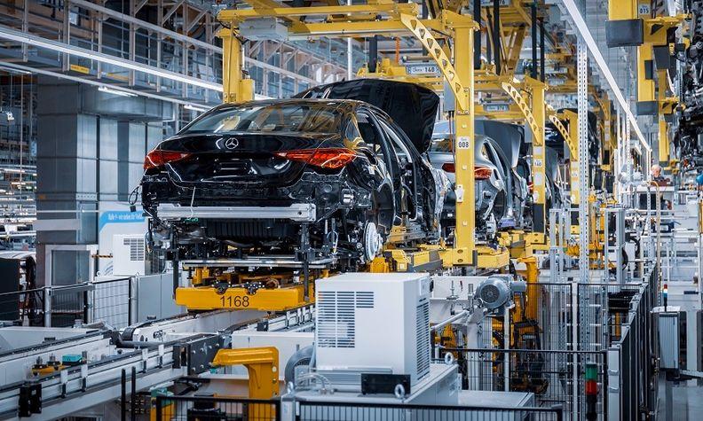 Mercedes C-Class production Bremen