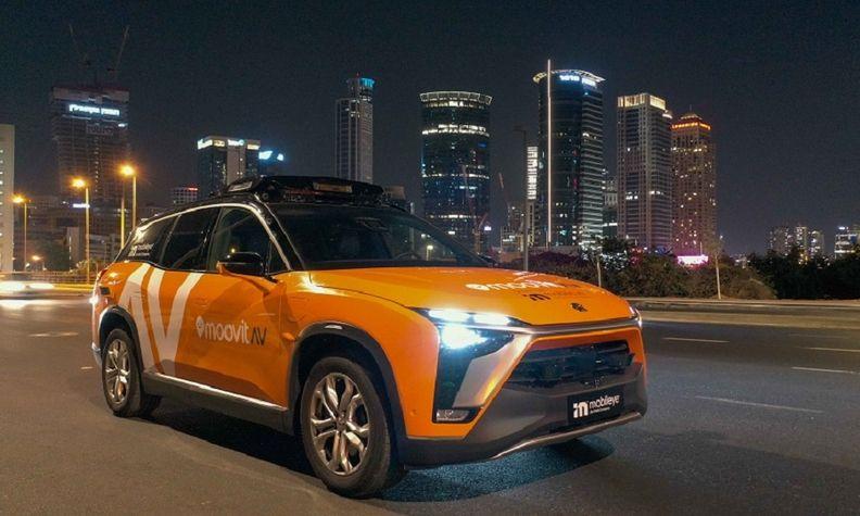 Mobileye Moovit self driving car