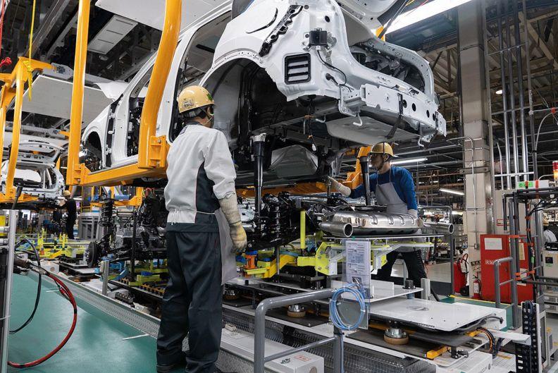Mazda Hofu H2 assembly plant