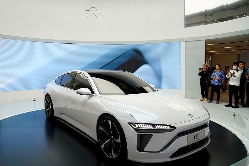 Nio ET7 at 2021 Shanghai auto show