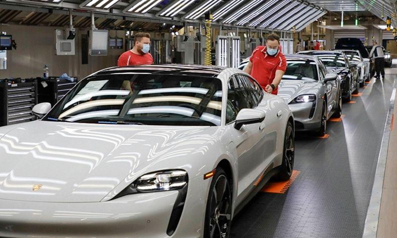 Porsche production 2020 Zuffenhausen