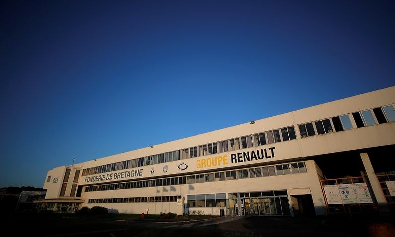 Renault is selling its Caudan foundry as the automaker shifts to building EVs instead of combustion engine cars.