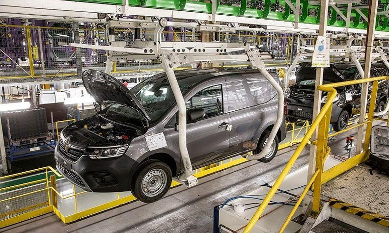 Renault Kangoo production 2021 Maubeuge