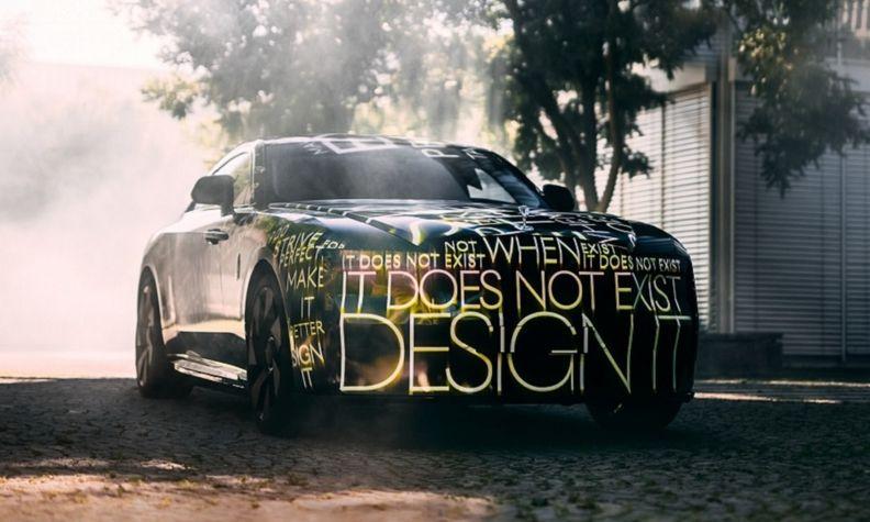 Rolls-Royce Spectre front