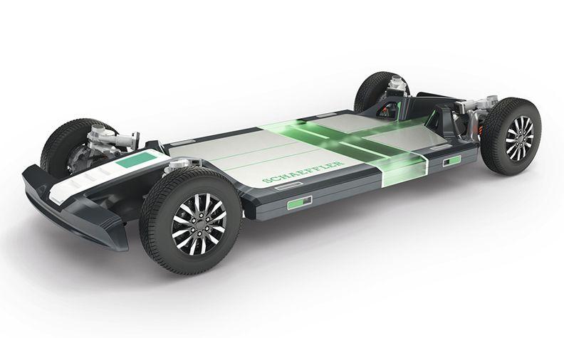 Schaeffler's rolling chassis modular platform