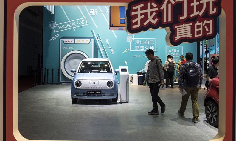 Great Wall ORA R1 at 2019 Shanghai auto show