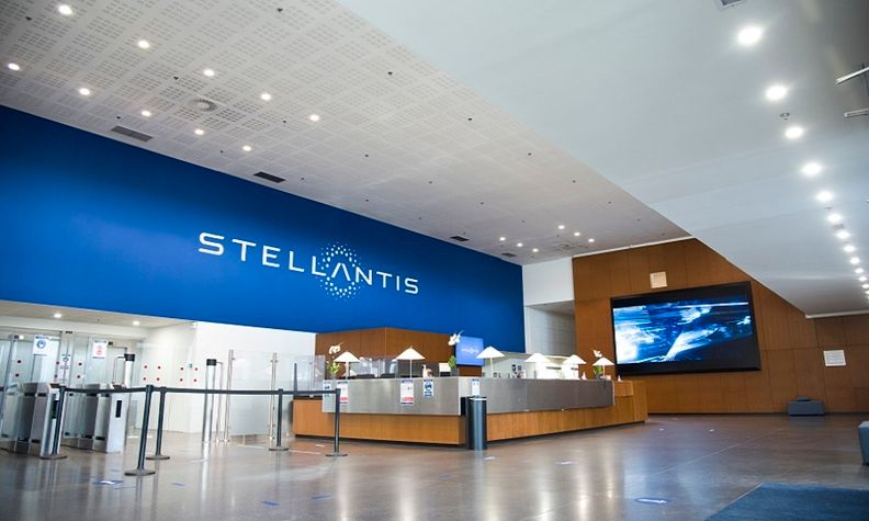 Stellantis' Velizy research center near Paris.