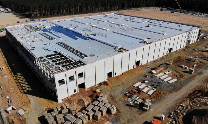 Tesla Berlin factory Sept 2020